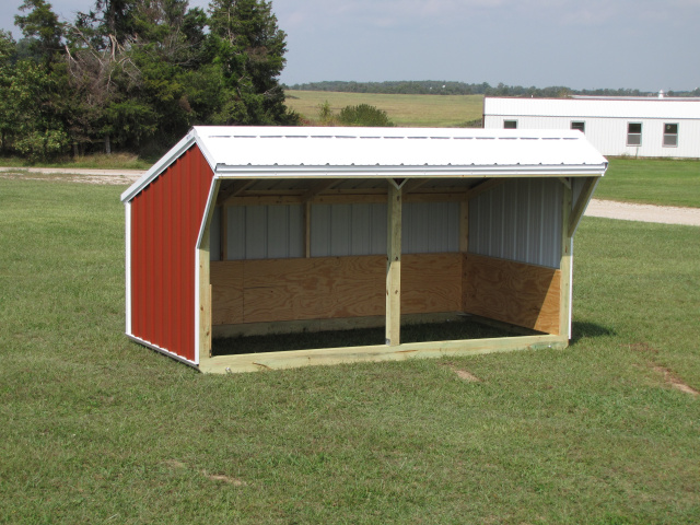 Portable Cow Shelters : Deluxe small animal shelters
