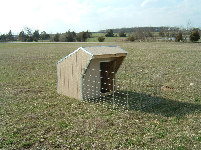 Portable Calf Shed : Bottle calf sheds