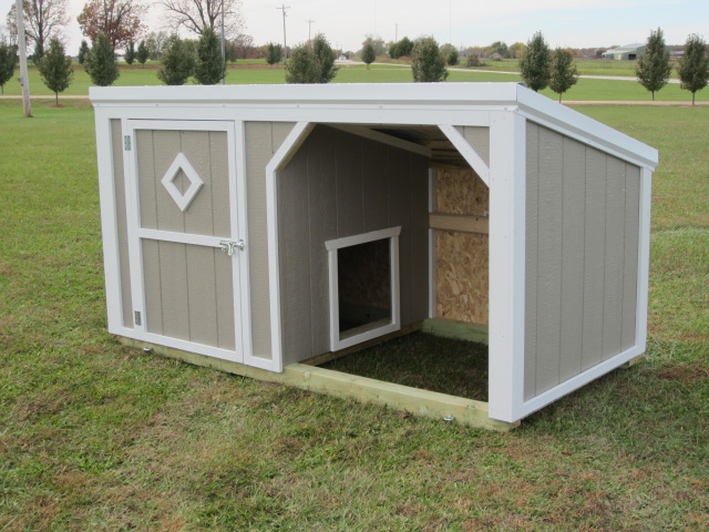 Dog Houses And Shelters : Custom dog kennels