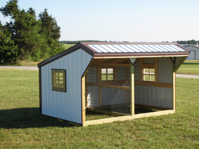 Learning k delta waterfowl hen house plans for Portable dog kennel building