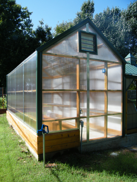 Photos greenhouses for Dog kennel greenhouse