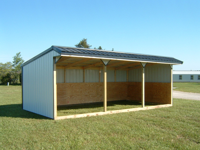 Horse Shelters & Feeders