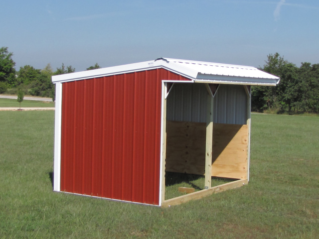 Portable Cow Shelters : Horse pasture shed