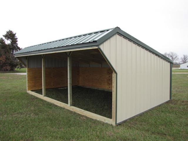 Portable Livestock Shelters : Large animal shelters