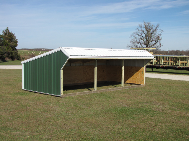 Portable Cow Shelters : Deluxe large animal shelters