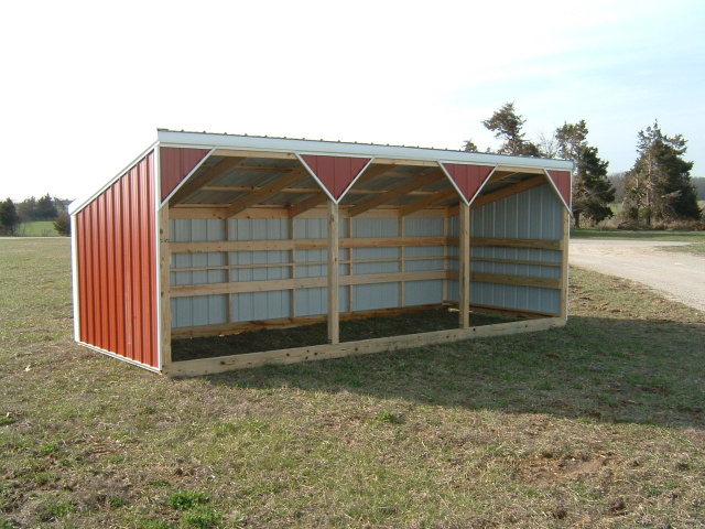Small Metal Animal Shelters : Deluxe large animal shelters