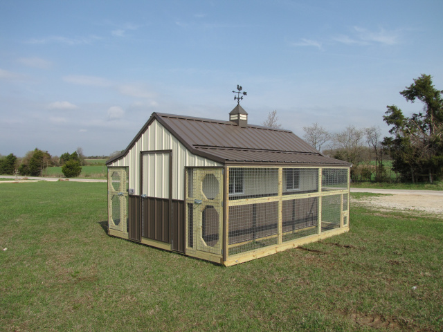 The quaker style for Portable hen house