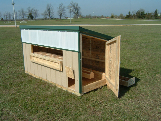 Mini Poultry Shed