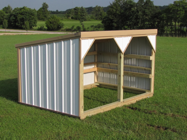 Small Portable Shelters : Portable sheep shelter