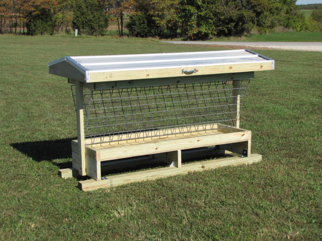 Flip Up Covered Feeders