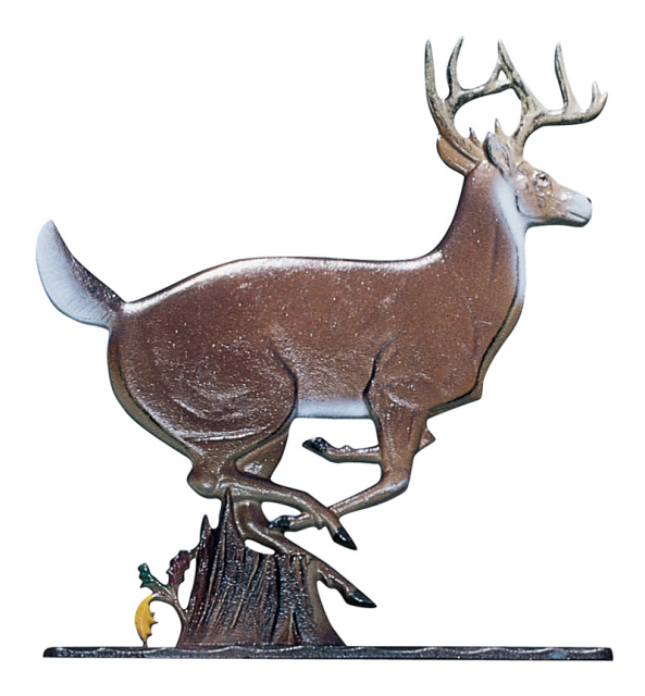 "30"" Painted Whitetail Deer Weathervane"
