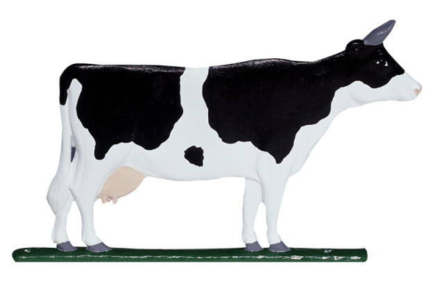 "30"" Painted Cow Weathervane"