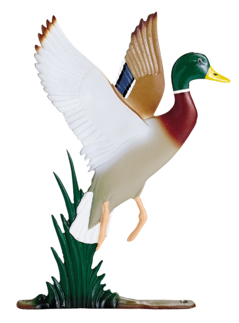 "30"" Painted Mallard Duck Weathervane"