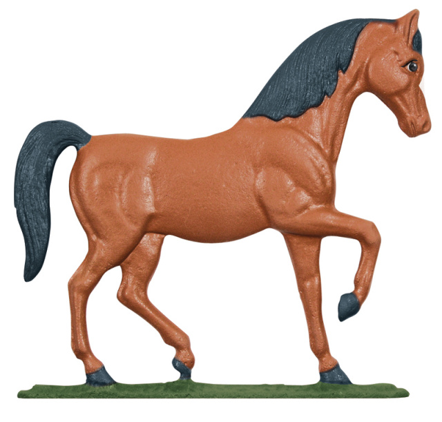 "30"" Painted Horse Weathervane"