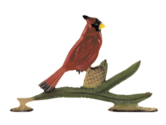 "30"" Painted Cardinal Weathervane"