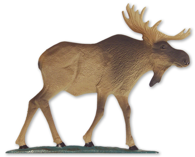 "30"" Painted Moose Weathervane"